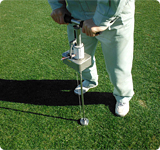 貫入式土壌硬度測定