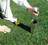 現場土壌透水性測定