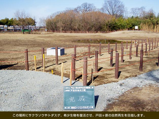 戸田ヶ原自然再生区域整備工事(埼玉県)